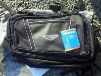 Unused weise expandable soft motorcycle panniers
