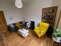 Bright 1 bedroom Colonies garden flat to rent in Elmwood Terrace, Leith (EH6)