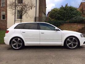 Audi a3 black edition , 4 brand new tryes , 12 months mot , full service history , £30 annual tax