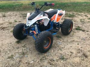 FREE SHIPPING 1200 WATTS VENOM BRUSHLESS 48 VOLTS ELECTRIC ATV QUAD VTT FOR TEENS & ADULTS - E-Bull