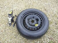 Ford Mondeo MK3 Spare Wheel & Jack - Michelin 205/55 R16 91V - Great Condition -