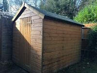 Garden Shed, good condition, 6ft by 8ft