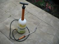 Killaspray garden pump sprayer