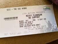 2x micky flanagan tickets