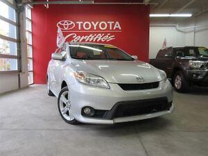 2011 Toyota Matrix FWD 4A XR/Certifie/Toit/GR.Elec./Jupes/Faite