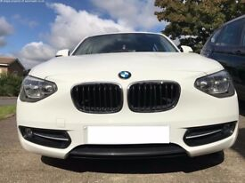 2013 , BMW 116i Sport , Petrol, Automatic, Only 36,000 mils, Lady Owner , FSH, Sport leather seats