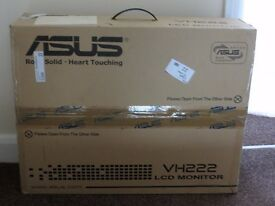 LCD Asus VH222 Monitor screen 56 cm