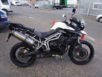 TRIUMPH TIGER 800 XC MODEL