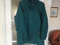 berghaus jacket XL forest green
