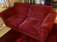 Dark Red Next Sofabed