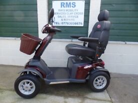 Mobility Scooter Vanos Roadmaster Plus, 4/8mph Road/Pavement scooter