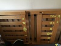 Oak Single Bed from Next