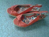 NEXT open toe shoes size 3 (36)