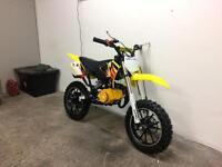 New 50cc scrambler