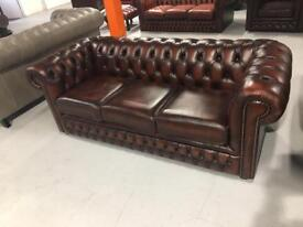 Brand New Chesterfield 3 Seater Sofa