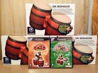 Donkey konga bongos x 3 with games