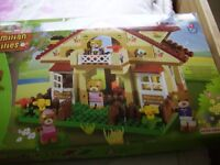 boxed maximillion family like lego 18months to 5yrs