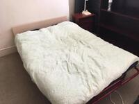Small double foldaway guest bed