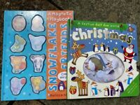Magnetic book and felt book
