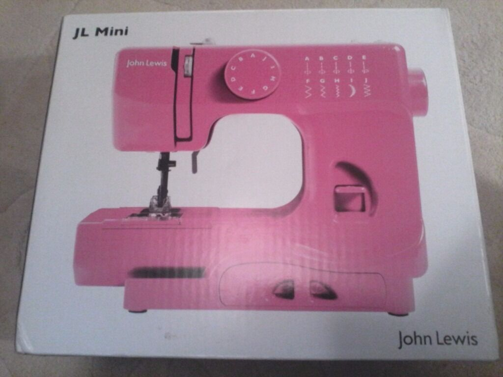 JOHN LEWIS mini sewing machine new.