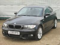 2009 (09 reg), Coupe BMW 1 Series 2.0 120d M Sport 2dr