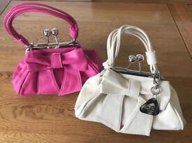 Set of 2 Designer Gabriella Handbags - Faux Leather
