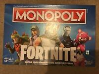 Fortnight monopoly board game