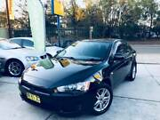 2008 Mitsubishi Lancer Sports Manual MAGS Exhaust Black Sporty A1 Sutherland Sutherland Area Preview