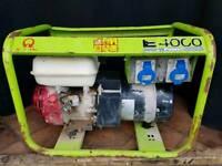 Honda GX200 powered generator