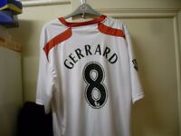 STEVE GERRARD TOP AS NEW SIZE LARGE XL CAN DELIVER