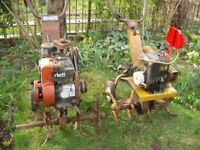 2 Complete Norlett Rotavators (both have been running) Selling As Spares Or Repairs