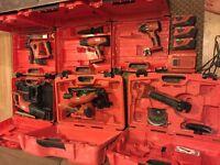 hilti 22v cordless kit
