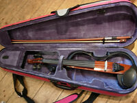 Yamaha electric/silent violin SV120 in superb condition