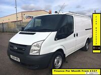 Ford Transit Van 2.2 300-1 Owner Ex BT- FSH 5 Stamps -1YR MOT-45K Miles Only -ELEC WINDOWS -WARRANTY