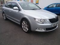 SKODA SUPERB ELEGANCE CDTDi SAT NAV LEATHER INTERIOR