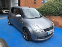 SUZUKI SWIFT 1.3GL, 2009, 69985 MILES, SERVICED, 2 KEYS, MOT 03/2019