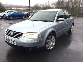 2003 VOLKSWAGEN PASSSAT 4 MOTION 1.9 TDI FULLY LOADED XENON WITH NAPPA LEATHER+HEATED SEATS