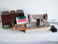 Singer 185K Heavy Duty Electric Sewing Machine - SEWS LEATHER - Excellent Condition