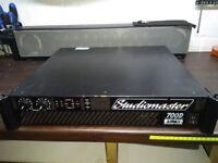 Studiomaster 700D power amplifier