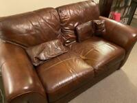 Leather Sofa - Free to Collector