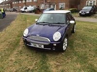 ladies mini cooper 2005 3 lady owners service history/ parts invoices