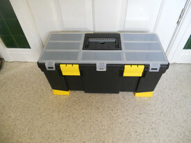 IDEAL MALE CHRISTMAS PRESENT-LARGE STANLEY TOOL BOX-NEW