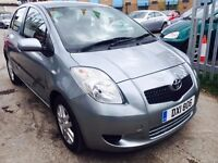 TOYOTA YARIS AUTOMATIC PETROL 1.3 2008 TR 45000 MILES