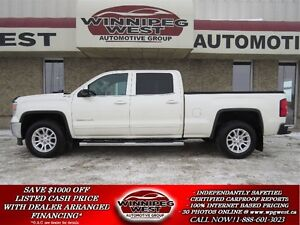 2014 GMC Sierra 1500 WHITE DIAMOND CREW Z71 OFF ROAD 4X4, LOADED