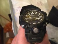 Casio G-Shock Tough Work Watch Suit Forces Adventurist GWG-1000-1A3ER (Nov 17 purchased worn twice)