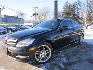 2013 Mercedes-Benz C-Class C250 COUPE~NAVIGATION~PANORAMA ROOF~B
