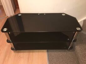 Black TV Stand / Trolley ideal for LCD LED TV - Good condition