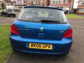 06 plate Peugeot 307 Spares or Repairs