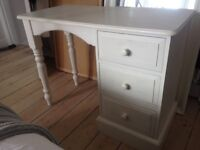 Painted desk/ dressing table