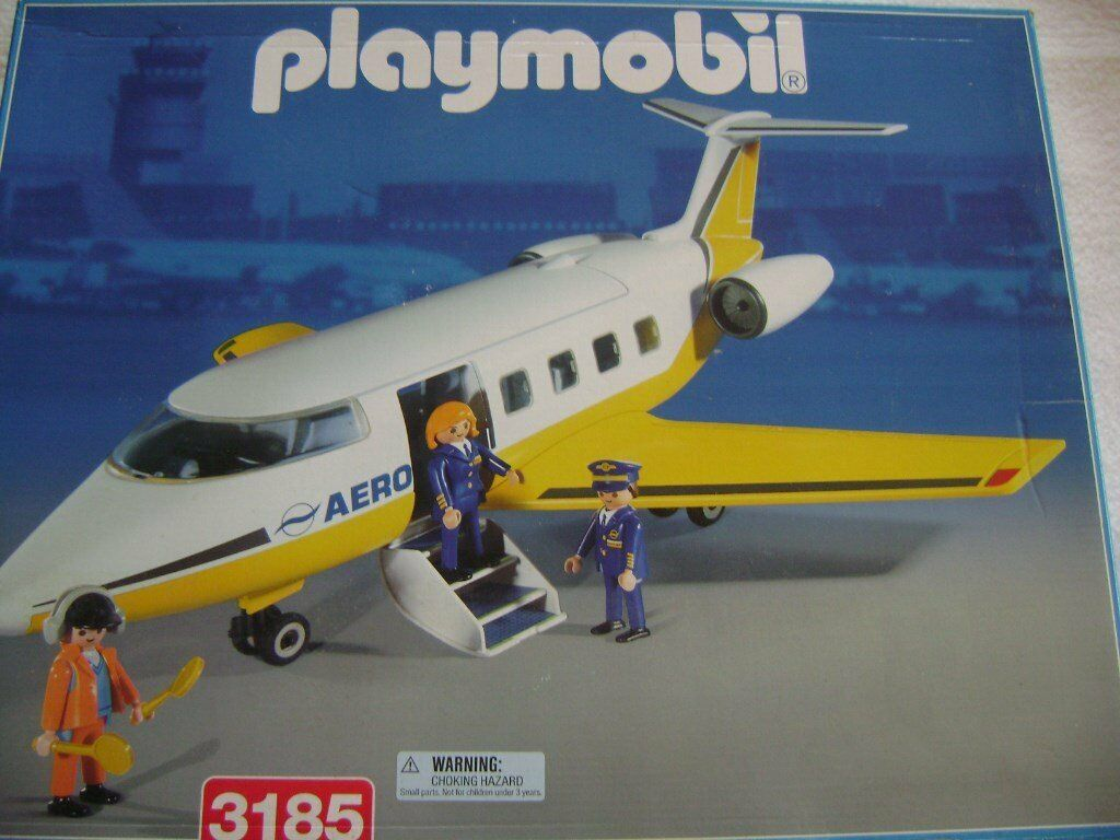 Playmobil Executive Jet. no. 3185